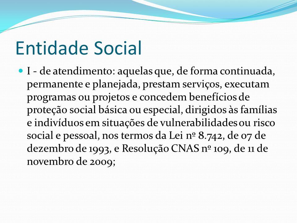 Entidade Social
