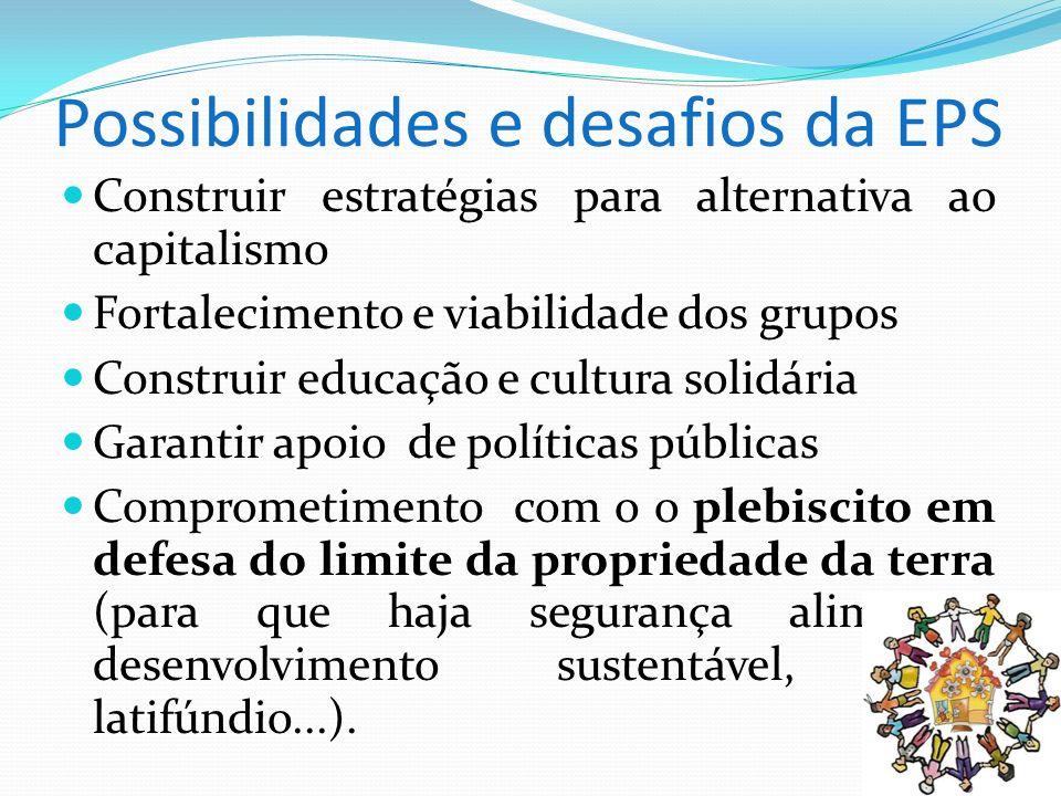 Possibilidades e desafios da EPS