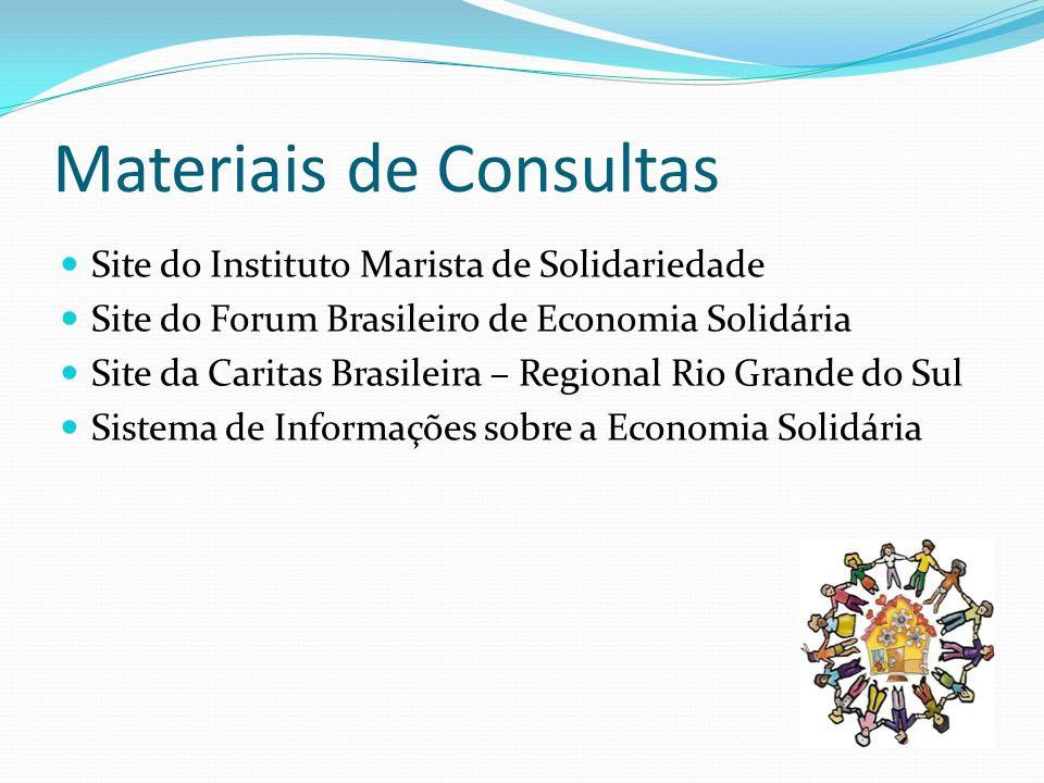 Materiais de Consultas