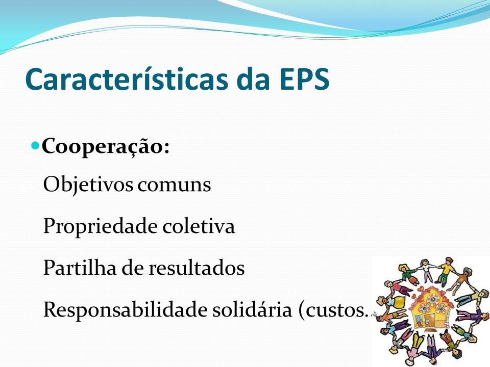 Características da EPS