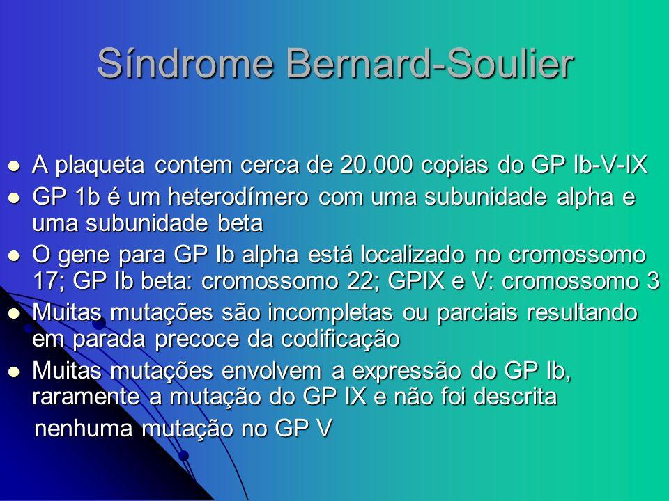 Síndrome Bernard-Soulier