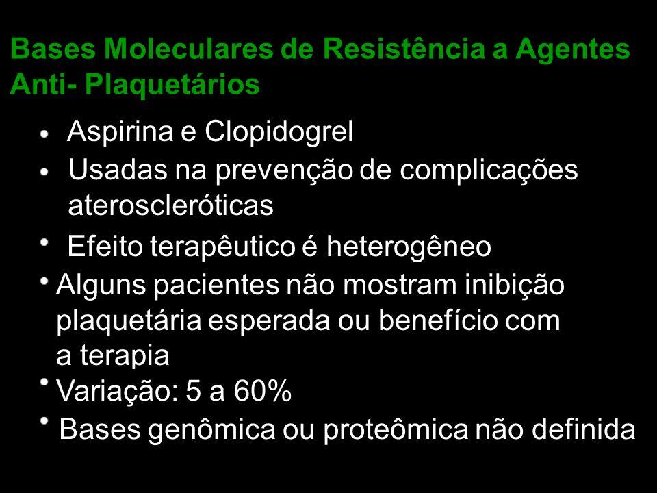 Bases Moleculares de Resistência a Agentes