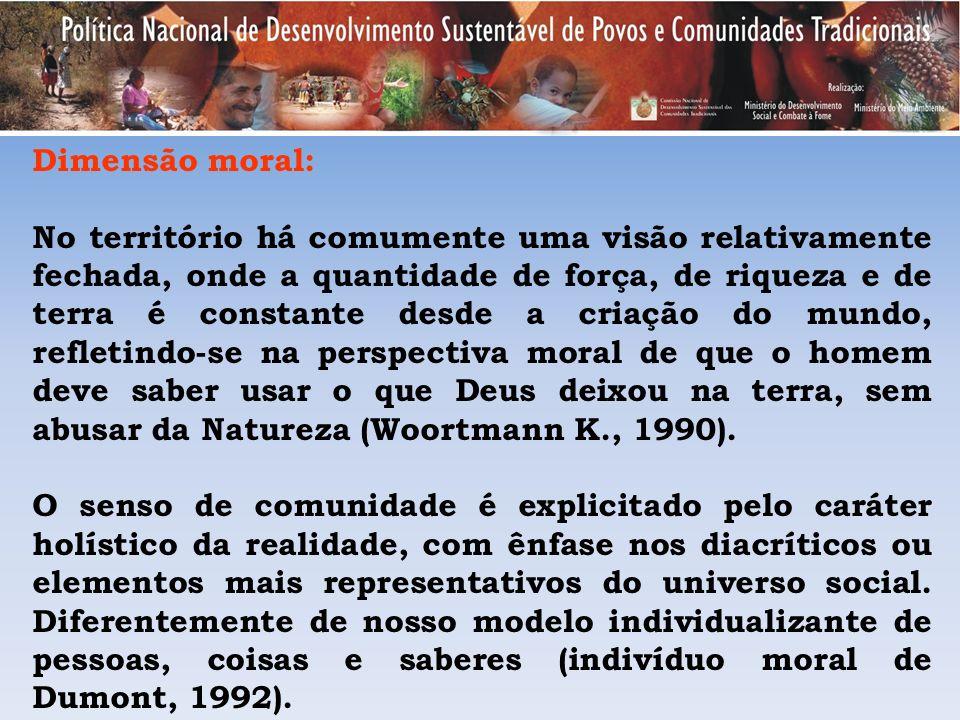 Dimensão moral: