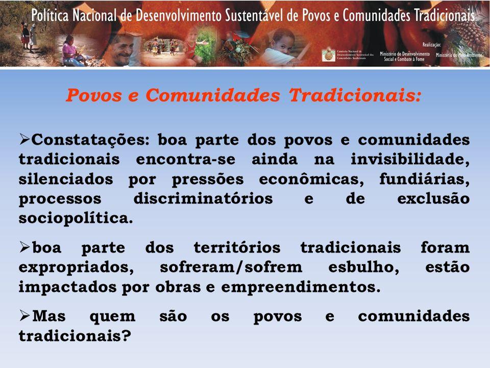 Povos e Comunidades Tradicionais: