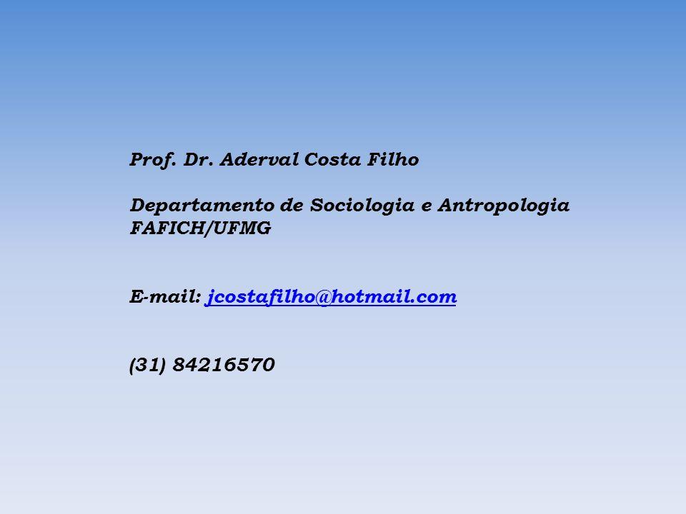 Prof. Dr. Aderval Costa Filho