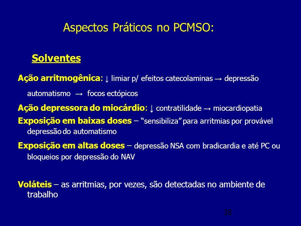 Aspectos Práticos no PCMSO:
