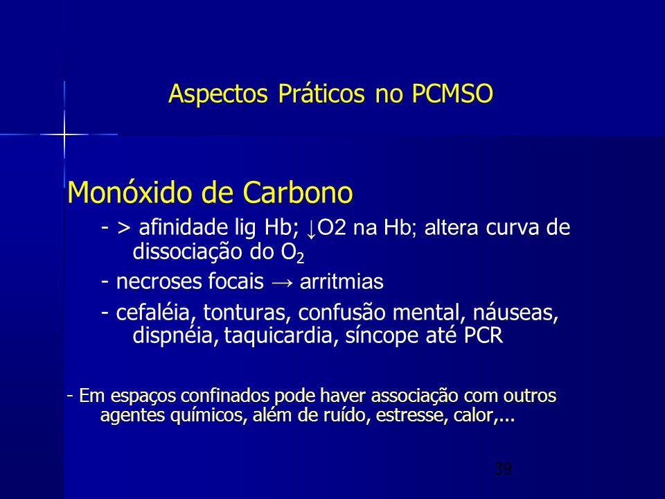 Aspectos Práticos no PCMSO