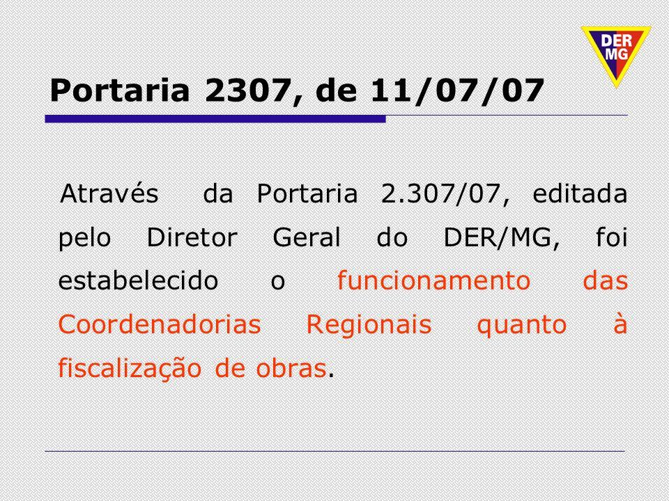 Portaria 2307, de 11/07/07