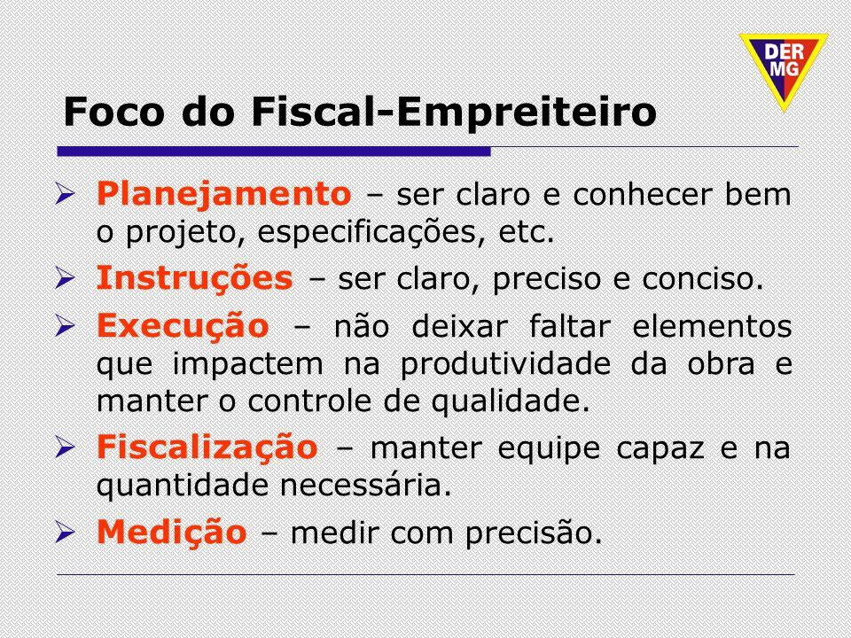 Foco do Fiscal-Empreiteiro