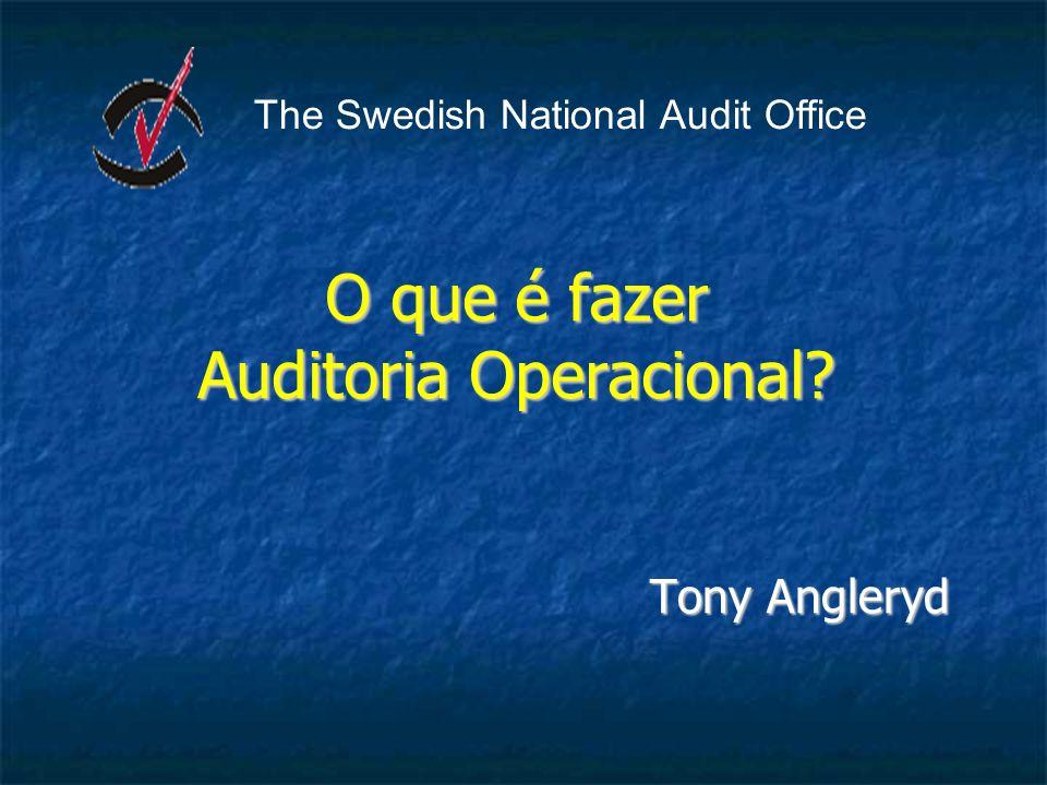 O que é fazer Auditoria Operacional