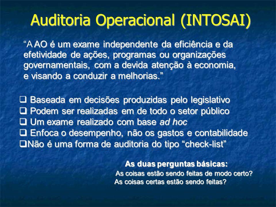Auditoria Operacional (INTOSAI)