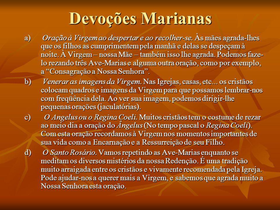 Devoções Marianas