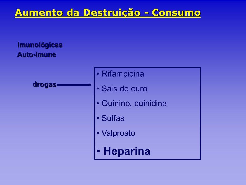 Aumento da Destruição - Consumo