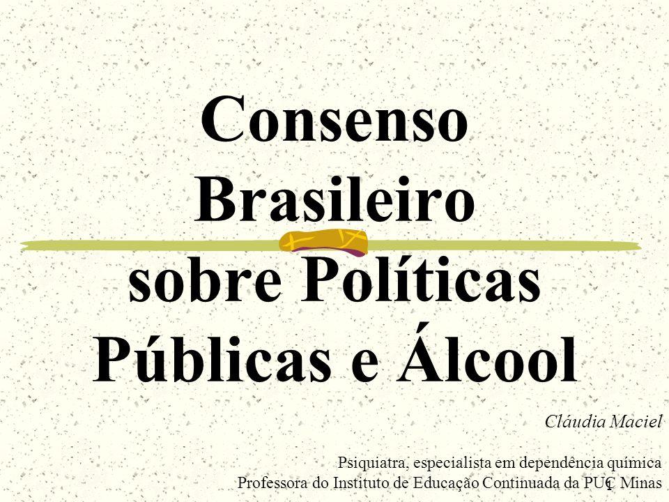 Consenso Brasileiro sobre Políticas Públicas e Álcool