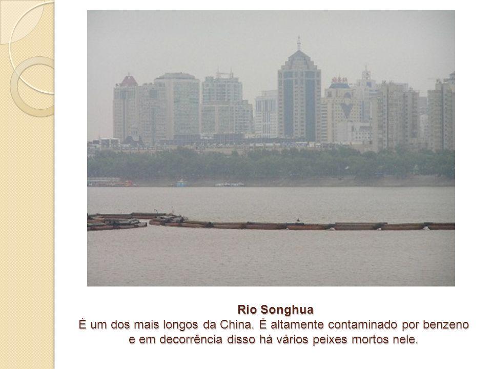 Rio Songhua É um dos mais longos da China