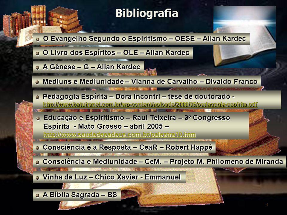 Bibliografia O Evangelho Segundo o Espiritismo – OESE – Allan Kardec