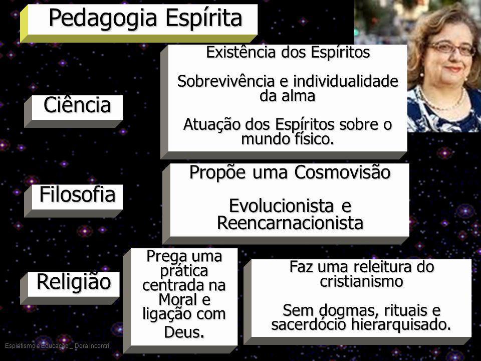 Pedagogia Espírita Ciência Filosofia Religião Propõe uma Cosmovisão