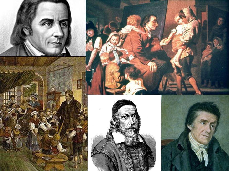 Comenius Pestalozzi – órfãos em Stans 7