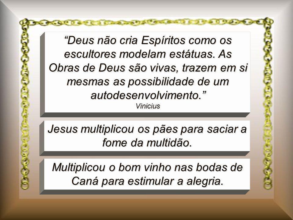 Jesus multiplicou os pães para saciar a fome da multidão.