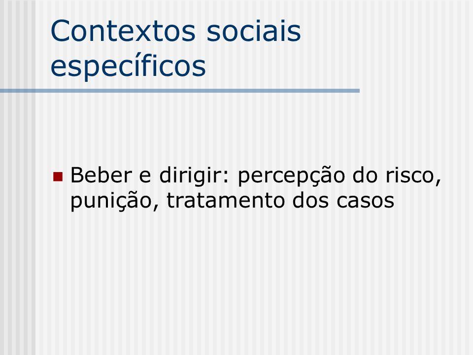 Contextos sociais específicos