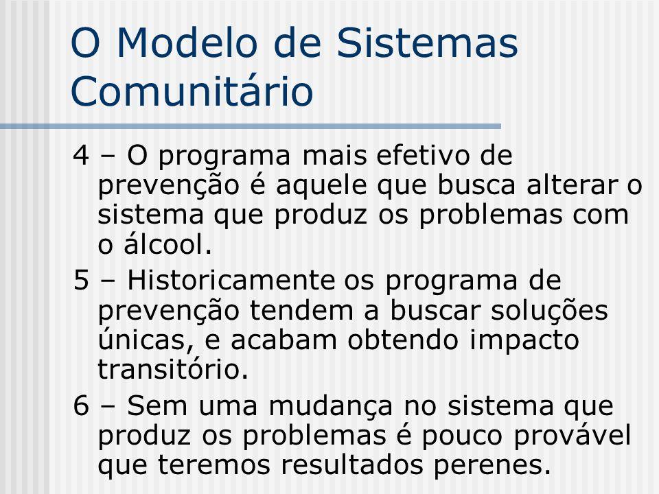 O Modelo de Sistemas Comunitário