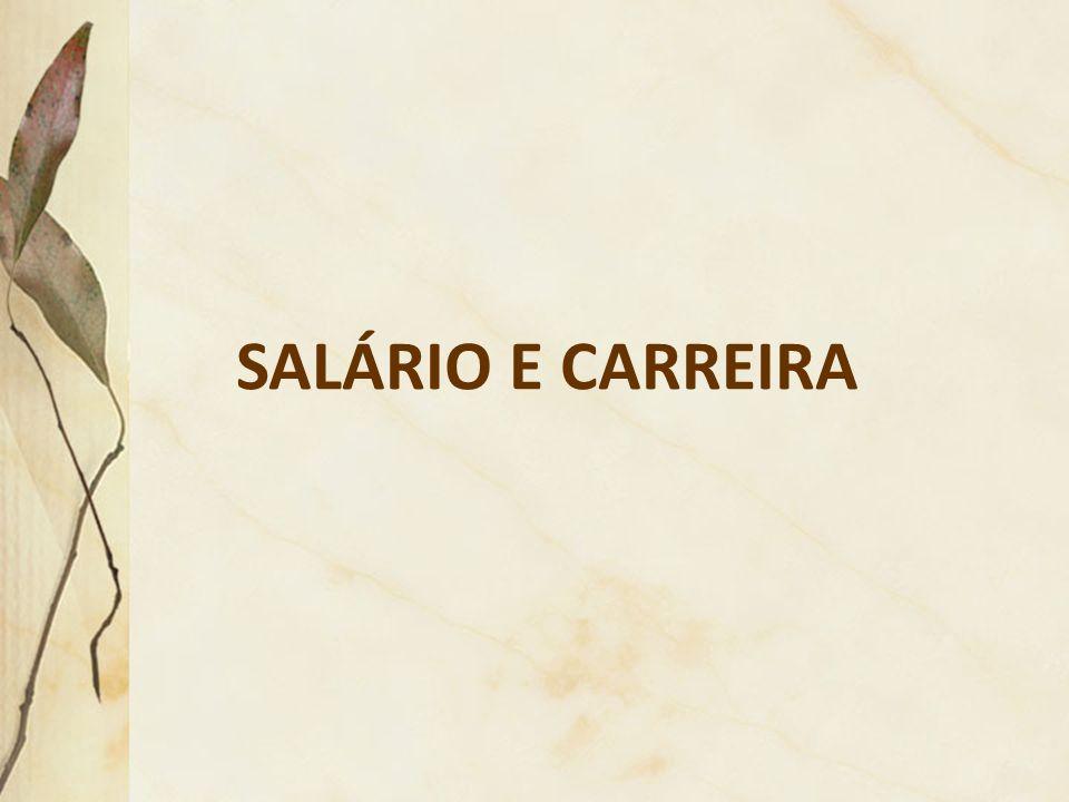 SALÁRIO E CARREIRA