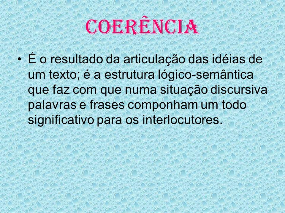 COERÊNCIA