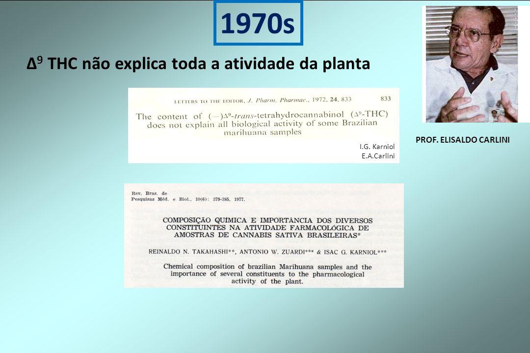 ∆9 THC não explica toda a atividade da planta