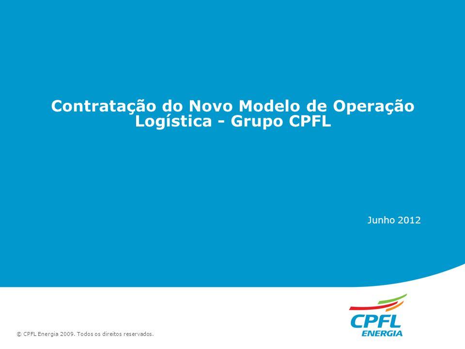 Contratação do Novo Modelo de Operação Logística - Grupo CPFL