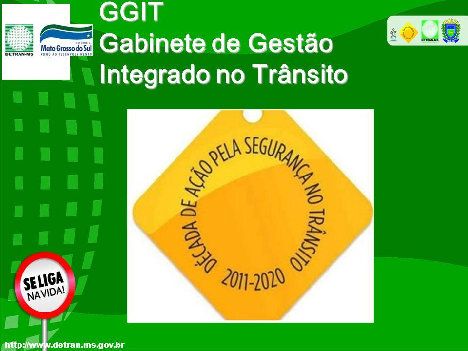 GGIT Gabinete de Gestão Integrado no Trânsito