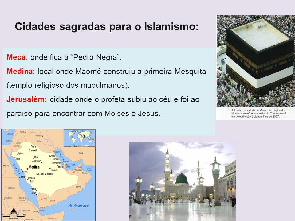 Cidades sagradas para o Islamismo: