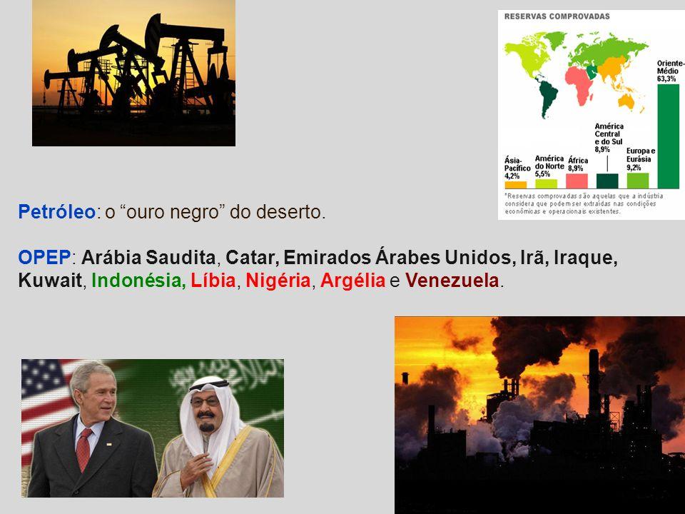 Petróleo: o ouro negro do deserto