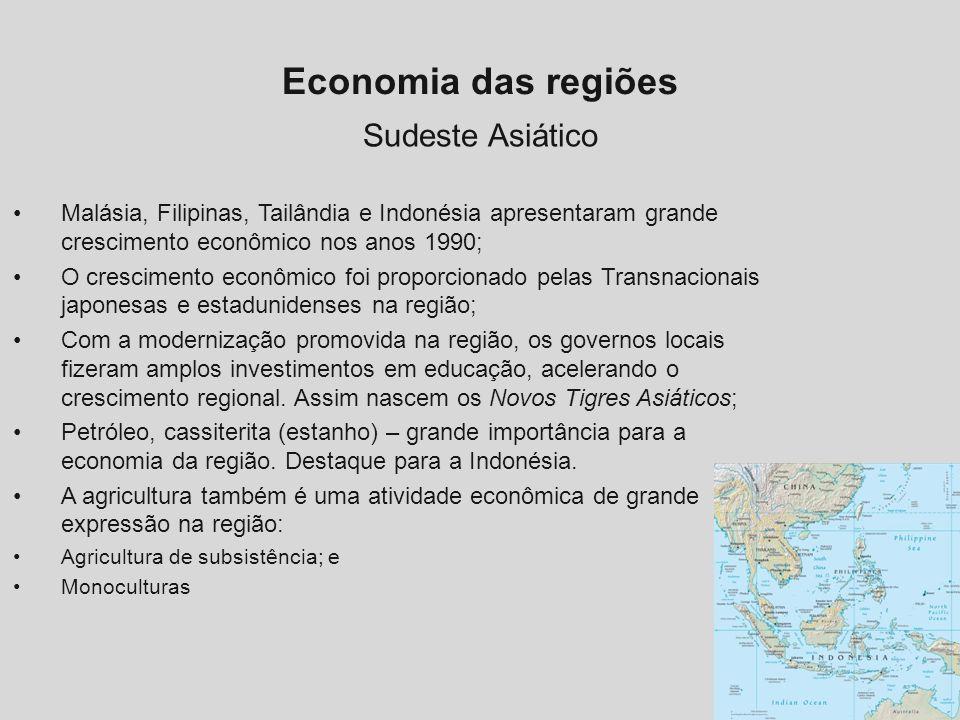Economia das regiões Sudeste Asiático