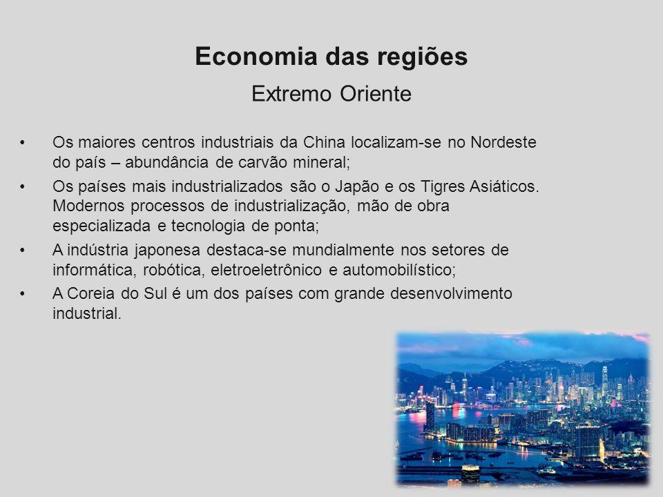 Economia das regiões Extremo Oriente