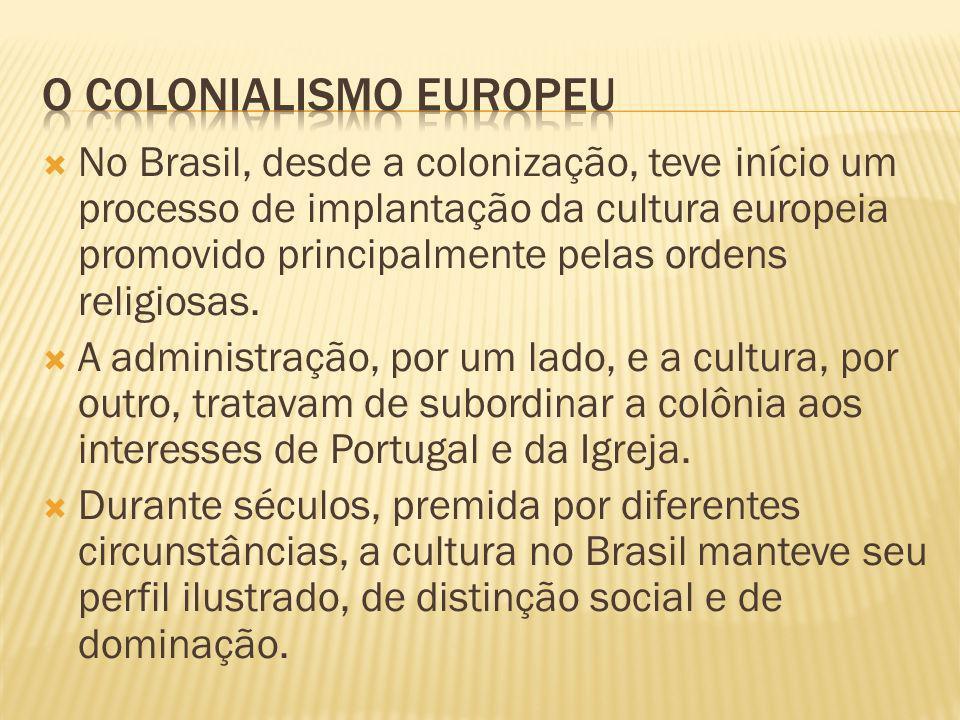 O colonialismo europeu