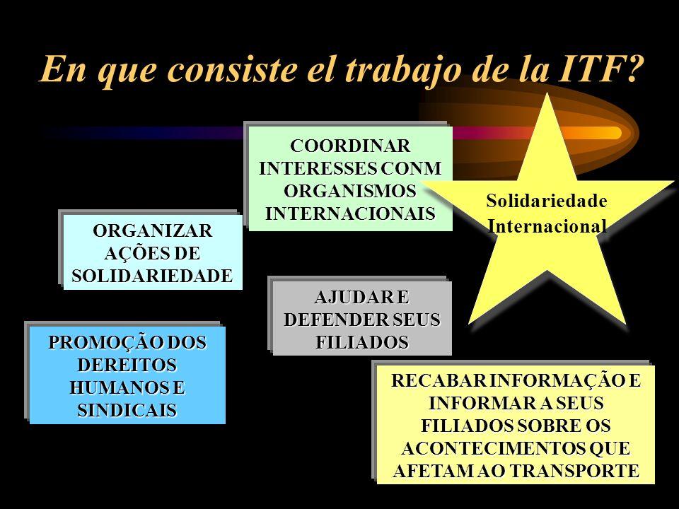 En que consiste el trabajo de la ITF