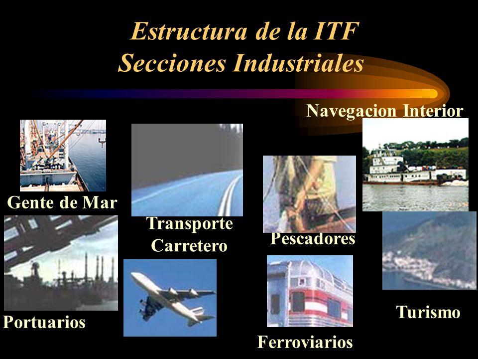 Estructura de la ITF Secciones Industriales