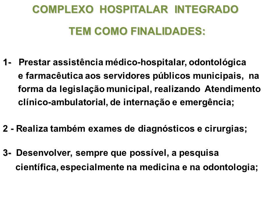 COMPLEXO HOSPITALAR INTEGRADO