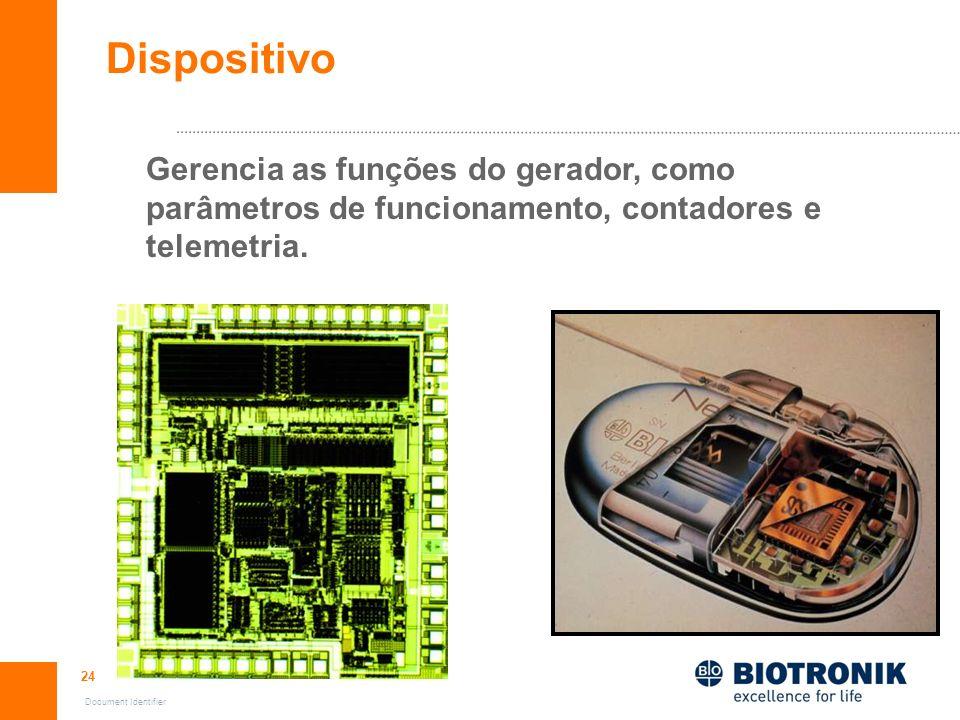 Dispositivo Gerencia as funções do gerador, como parâmetros de funcionamento, contadores e telemetria.