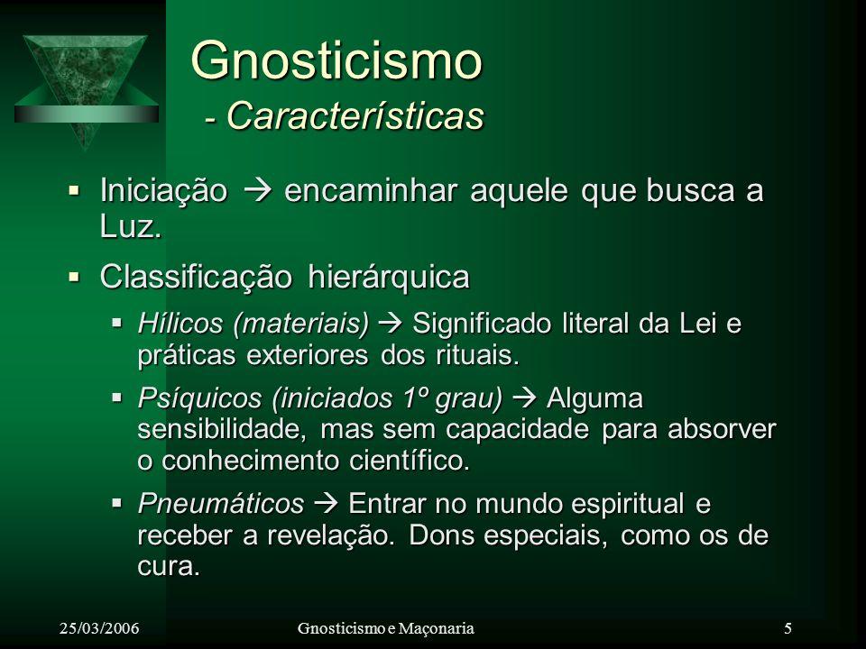 Gnosticismo - Características