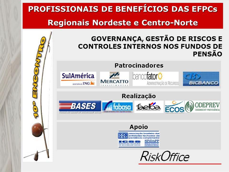 PROFISSIONAIS DE BENEFÍCIOS DAS EFPCs