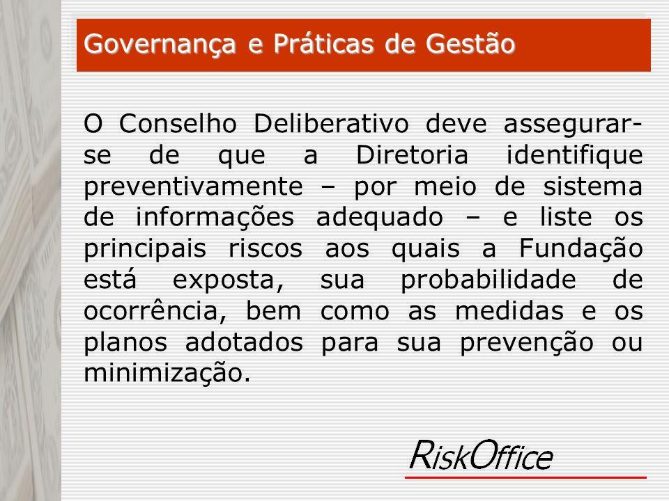 Governança e Práticas de Gestão