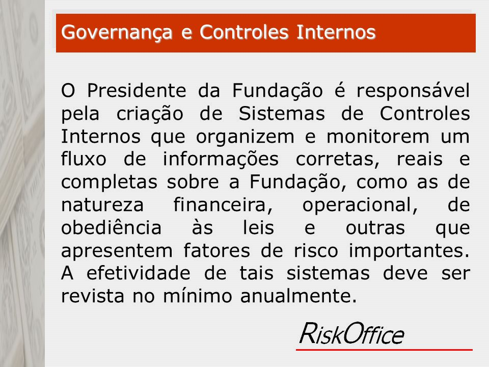 Governança e Controles Internos