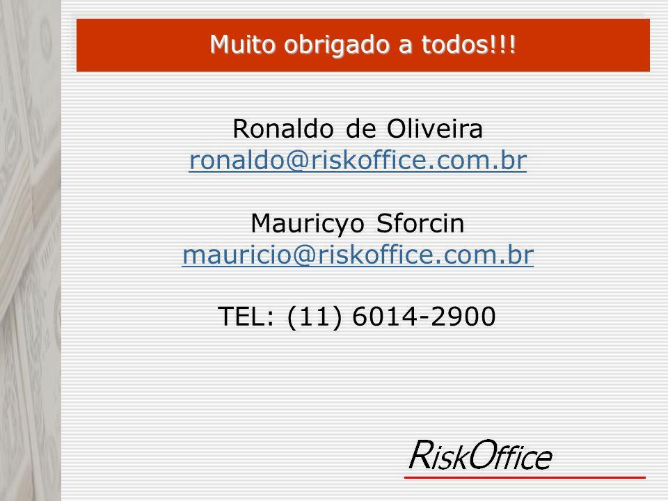 Ronaldo de Oliveira ronaldo@riskoffice.com.br