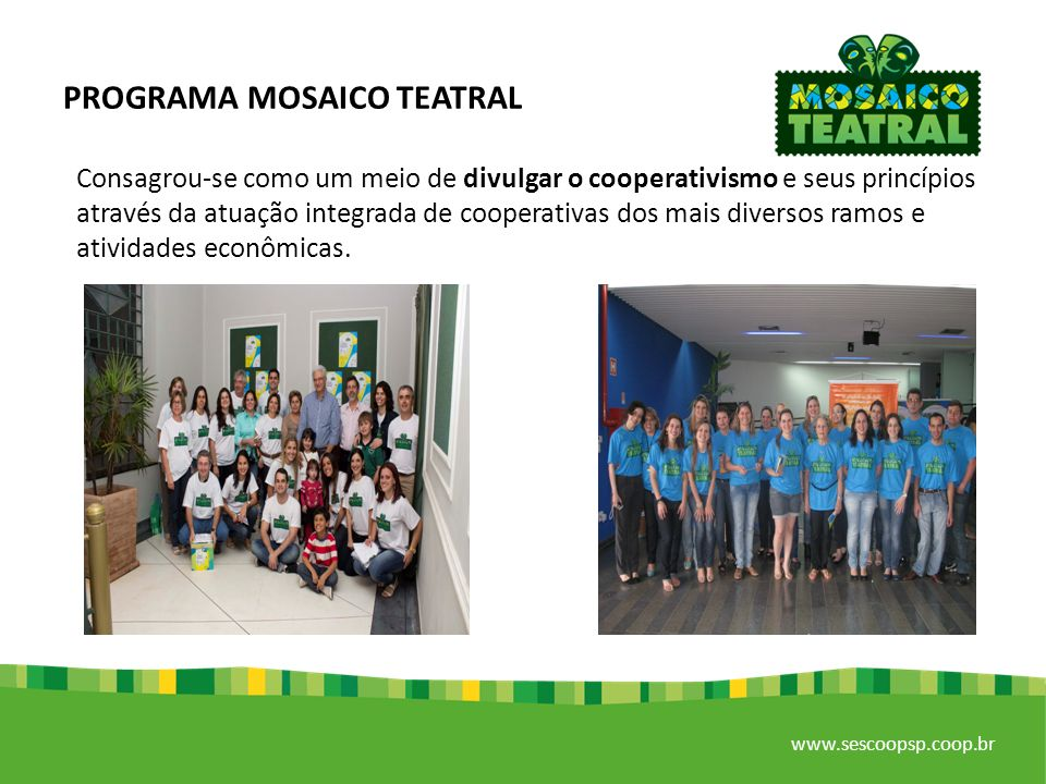 PROGRAMA MOSAICO TEATRAL