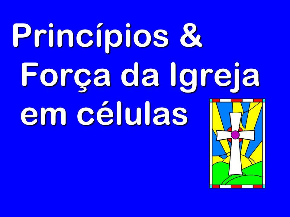 Princípios & Força da Igreja em células