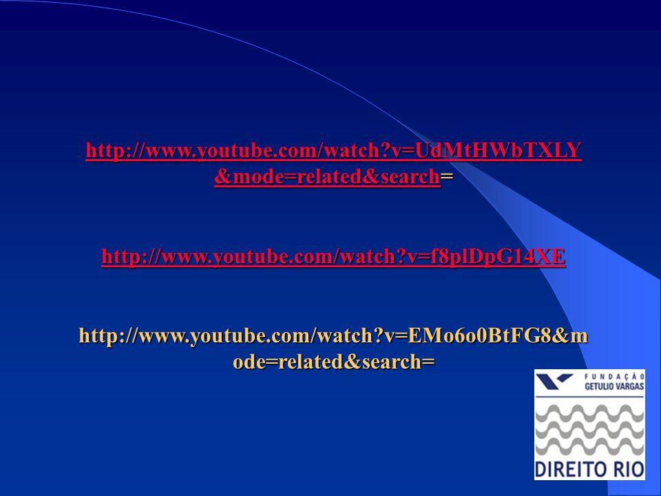 http://www.youtube.com/watch v=UdMtHWbTXLY&mode=related&search= http://www.youtube.com/watch v=f8plDpG14XE.