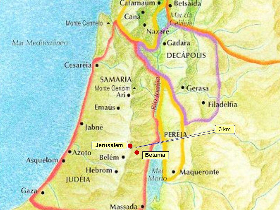 3 km Jerusalem Betânia