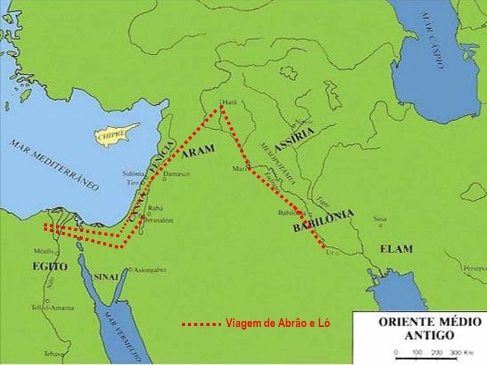Viagem de Abrâo e Ló