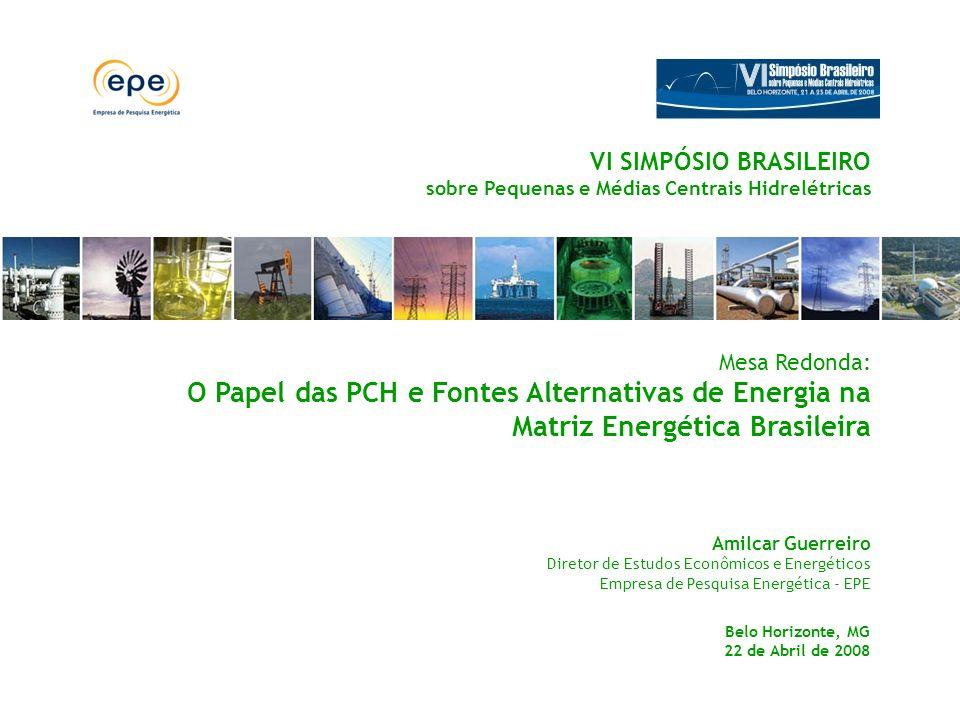 VI SIMPÓSIO BRASILEIRO sobre Pequenas e Médias Centrais Hidrelétricas